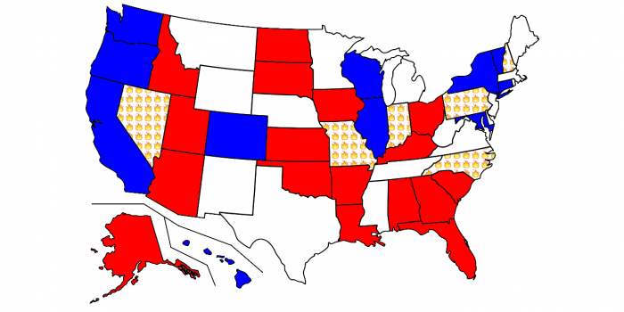 Close Senate races 2016