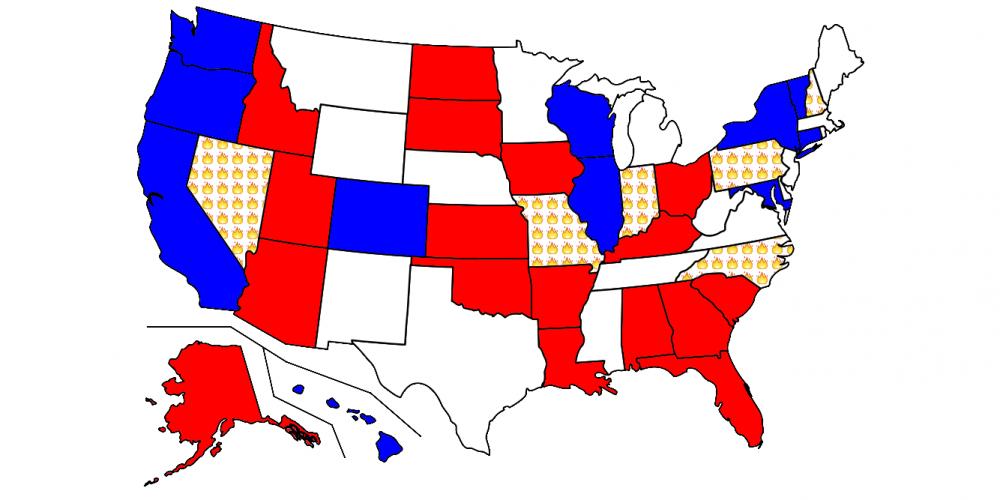 Indelegate: Close Senate races 2016