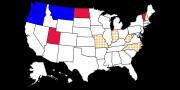 Close gubernatorial races 2016