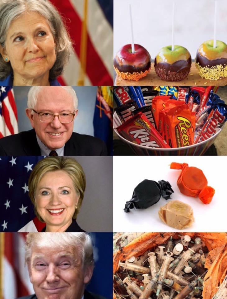 Indelegate Monday Memes - Halloween candidates