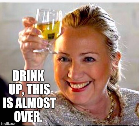 hillary-drink-up