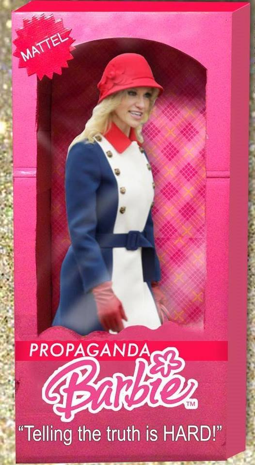propaganda barbie