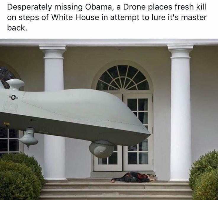 Obama drone meme