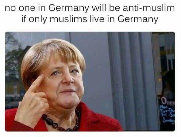 merkel muslim meme