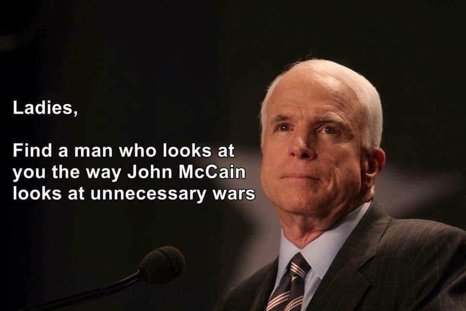 john mccain wars meme