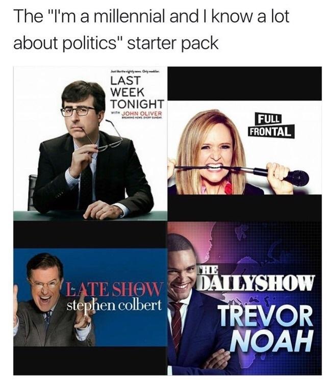 millennial meme