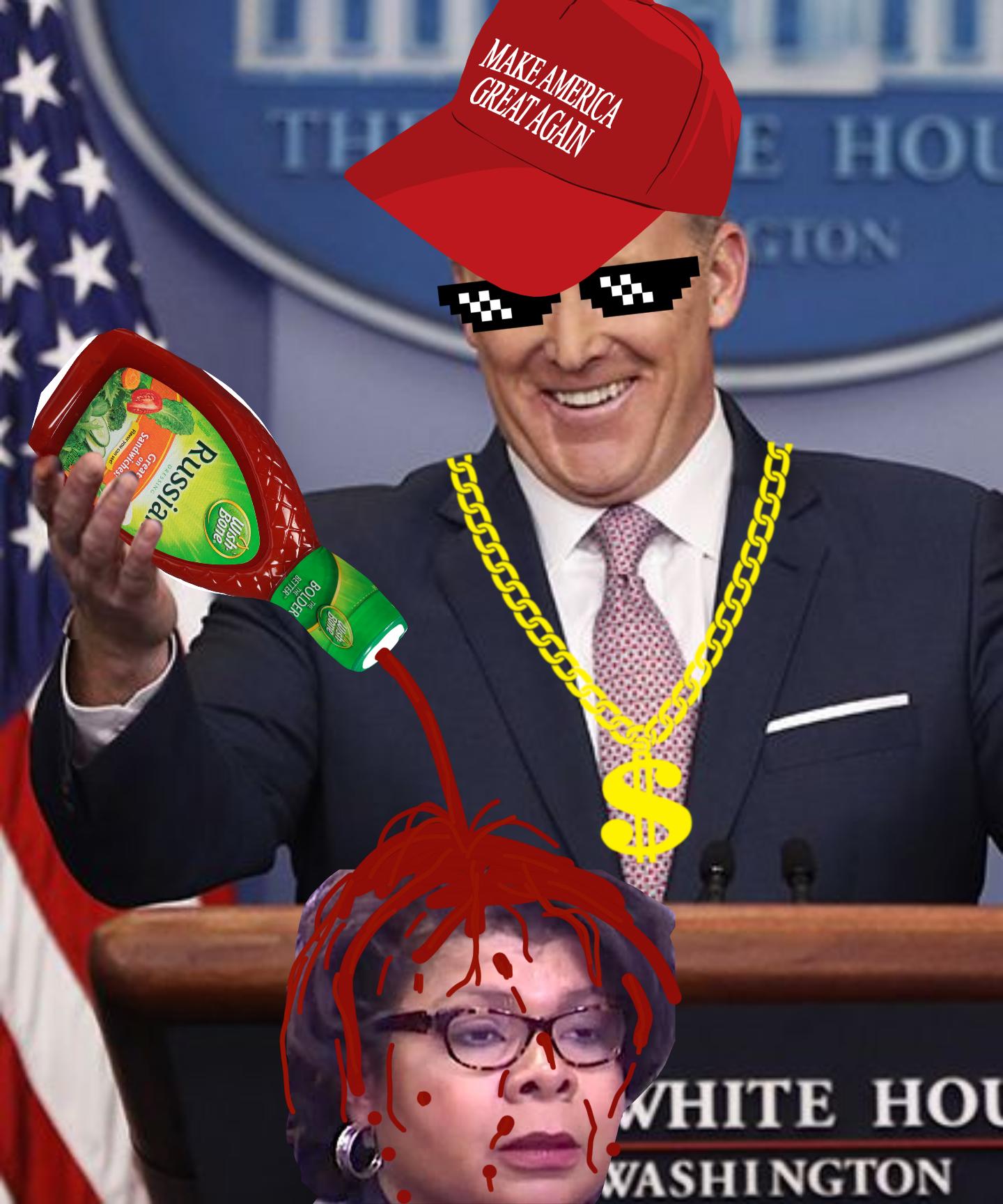 spicey spicer meme