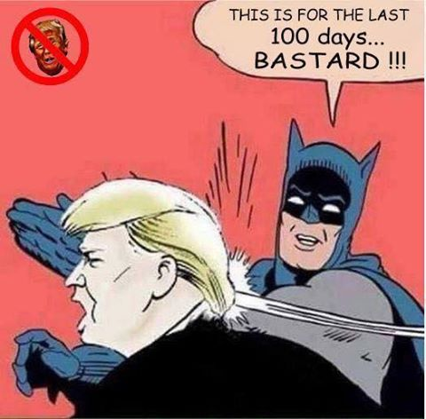batman trump slap meme