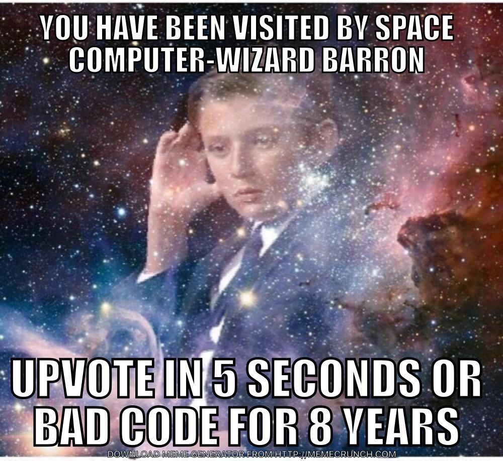 computer wizard barron meme