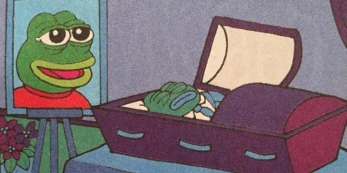 dead Pepe: RIP Pepe