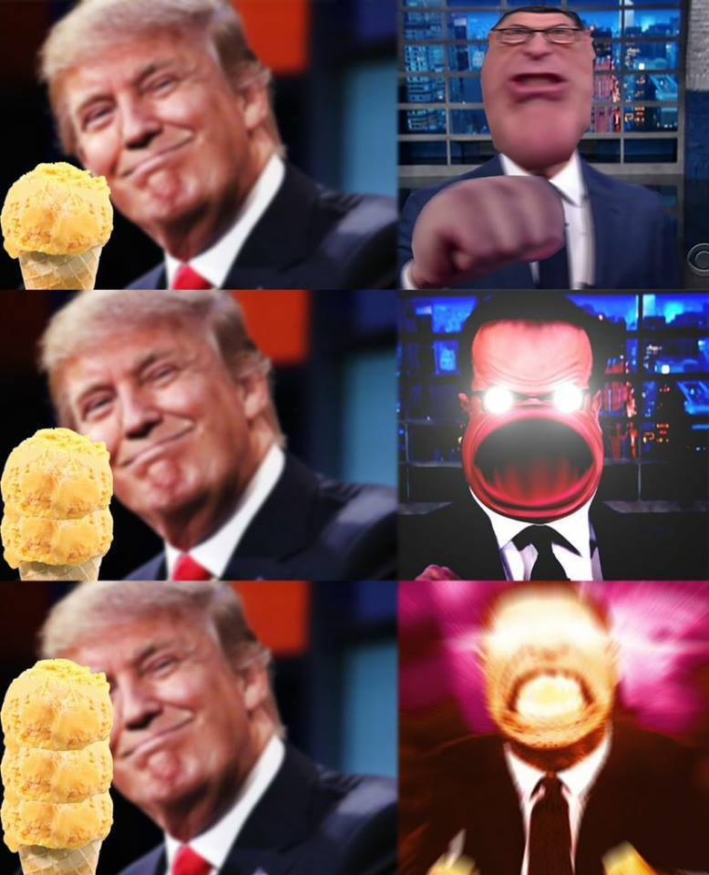 donald ice cream meme