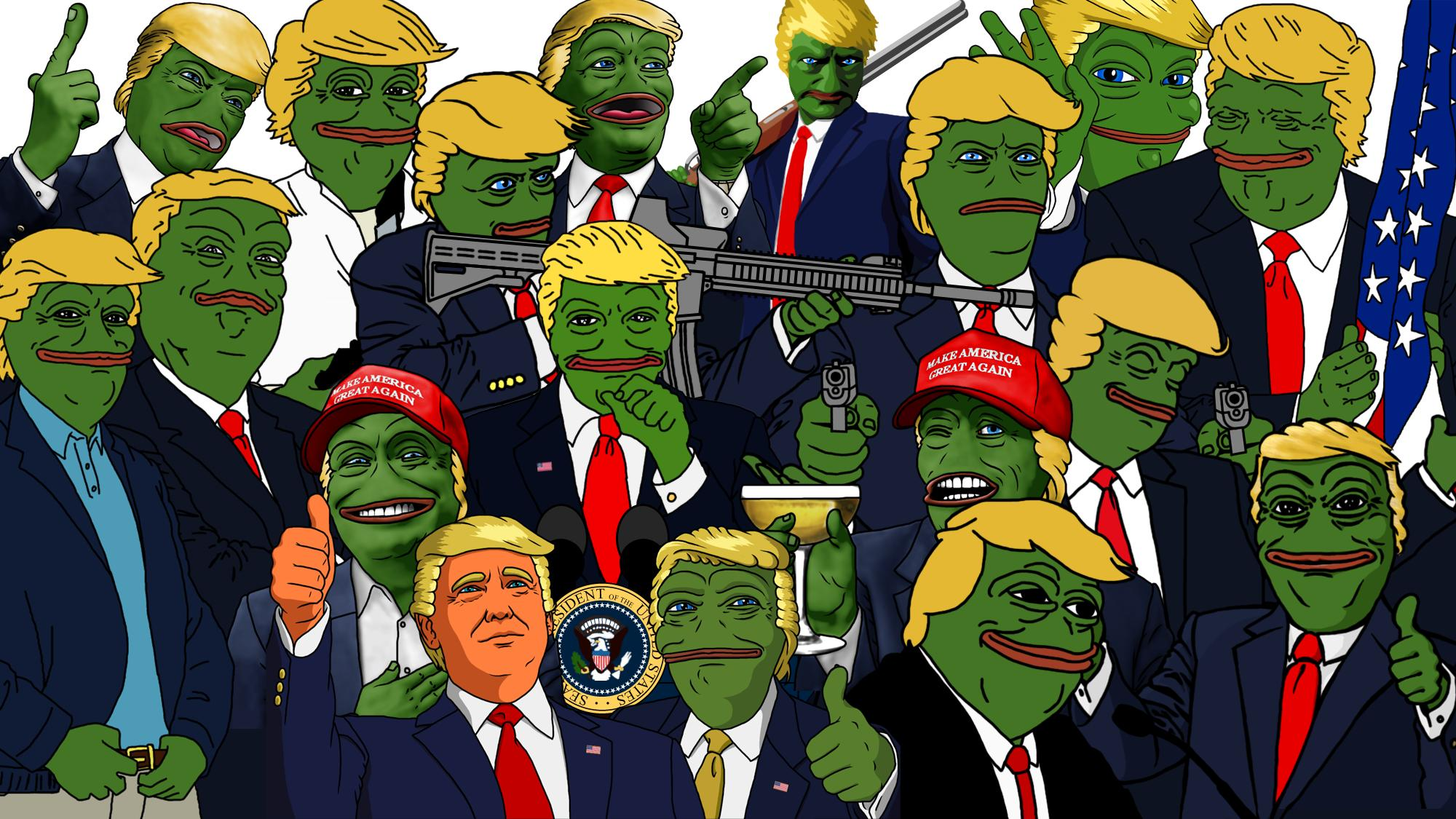 pepe collage meme
