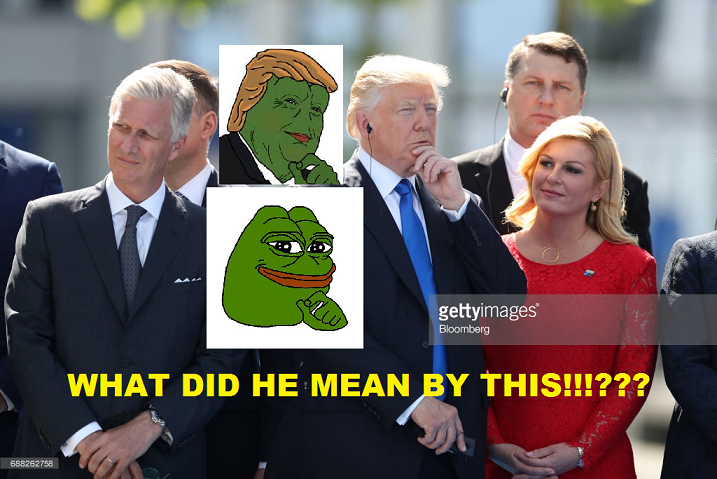 trump pepe meme