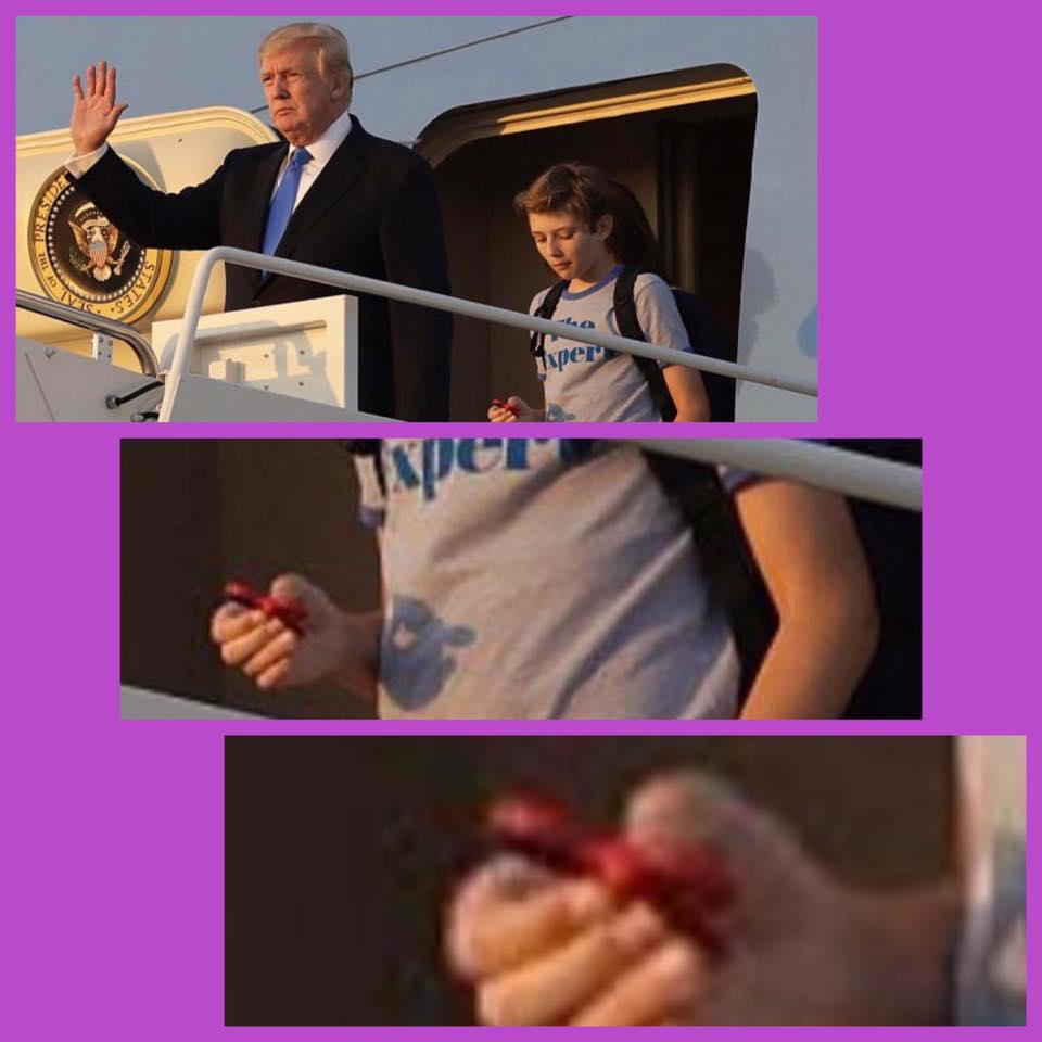Barron Trump fidget spinner