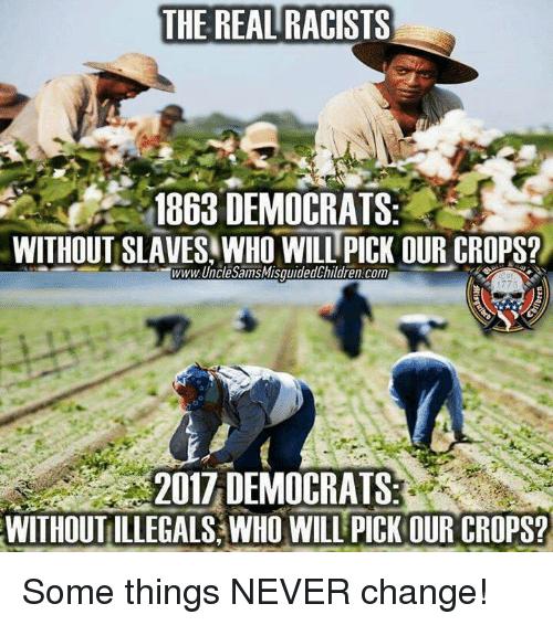 Democrats slaves memes