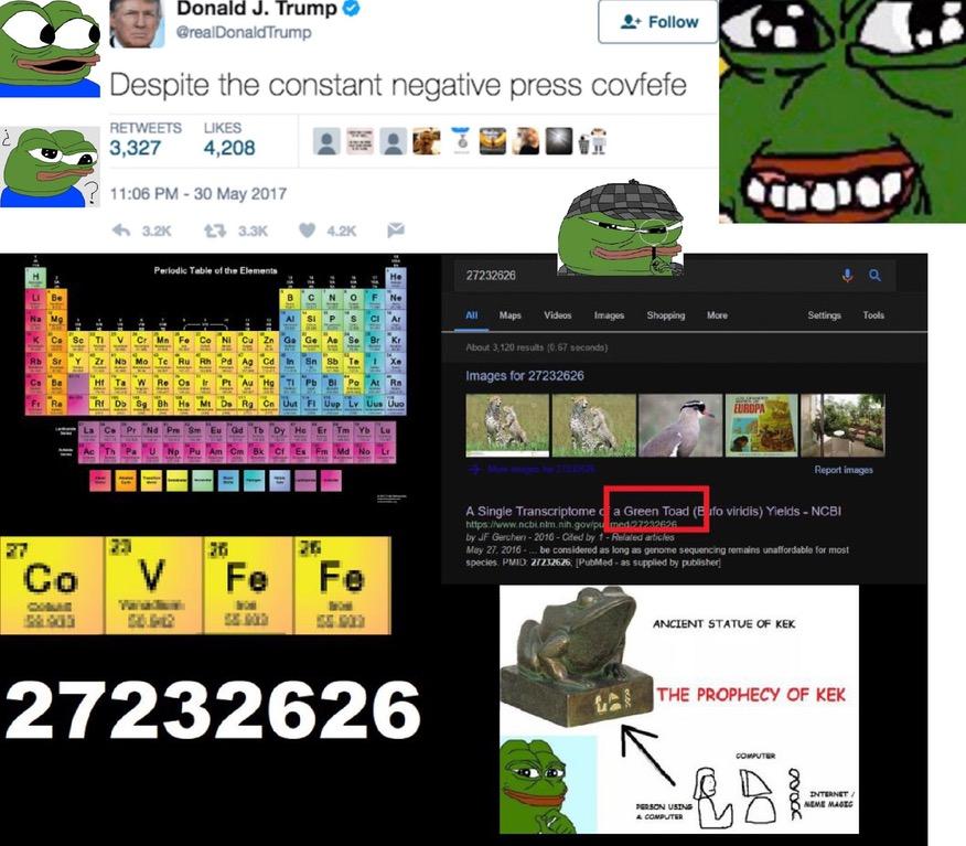 covfefe frog code