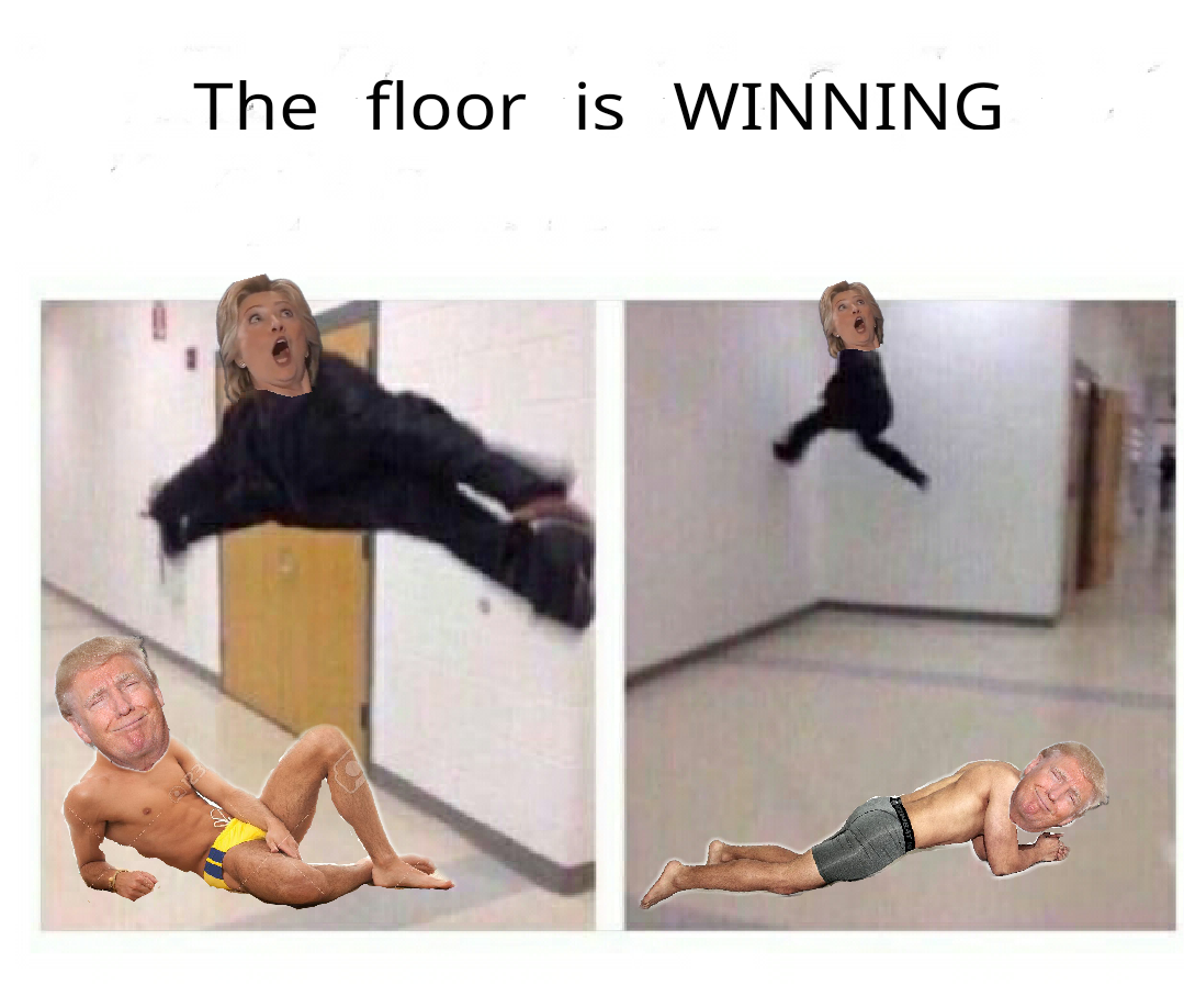 floor is winning