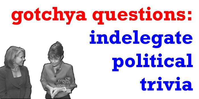 gotchya questions