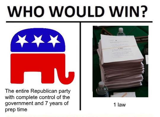 one law political meme