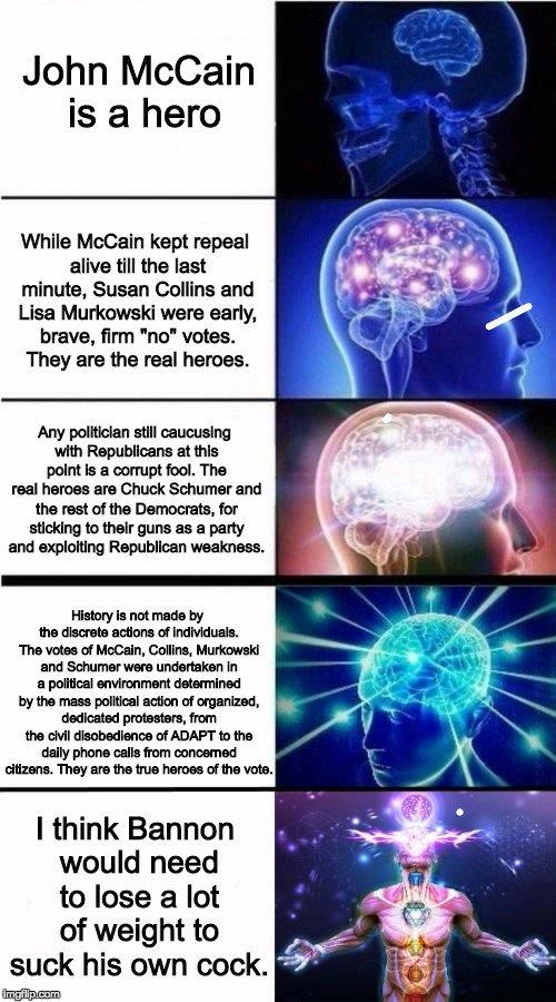 political meme brain