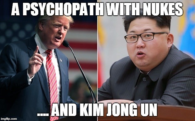 Monday Memes - the best political memes from Indelegate - Trump and Kim Jong Un political memes
