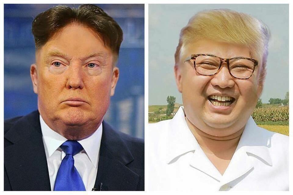 Monday Memes - the best political memes from Indelegate - Kim Jong Un and Trump hair swap
