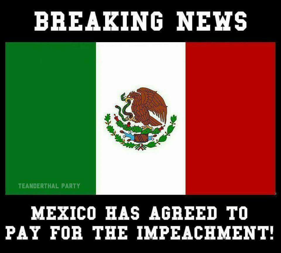 mexico pays for impeachment