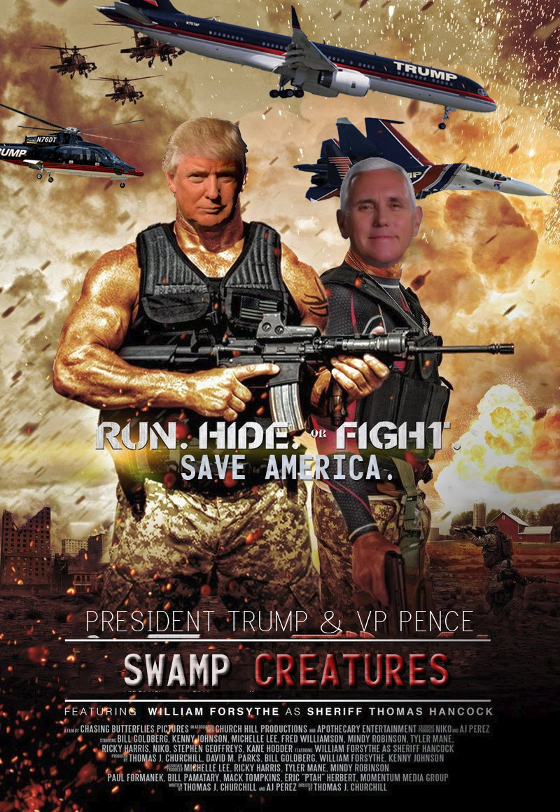 swamp creatures political meme
