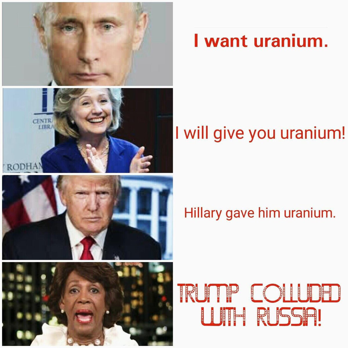 trump collusion political meme