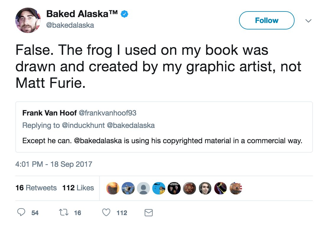 Baked Alaska is not smart