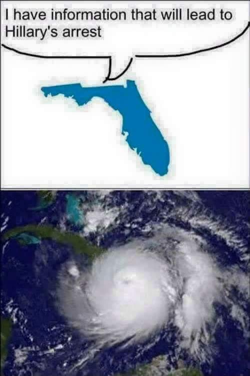 Irma meme hillarys arrest