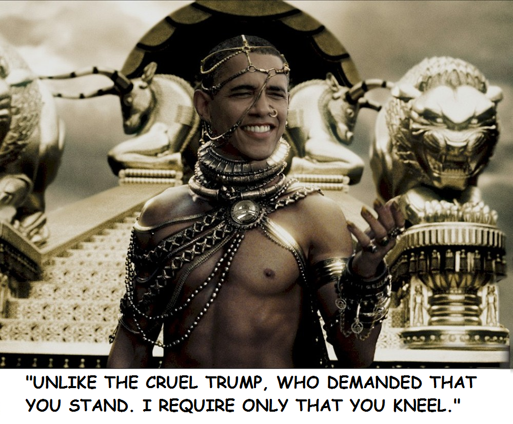 Obama Xerxes political meme