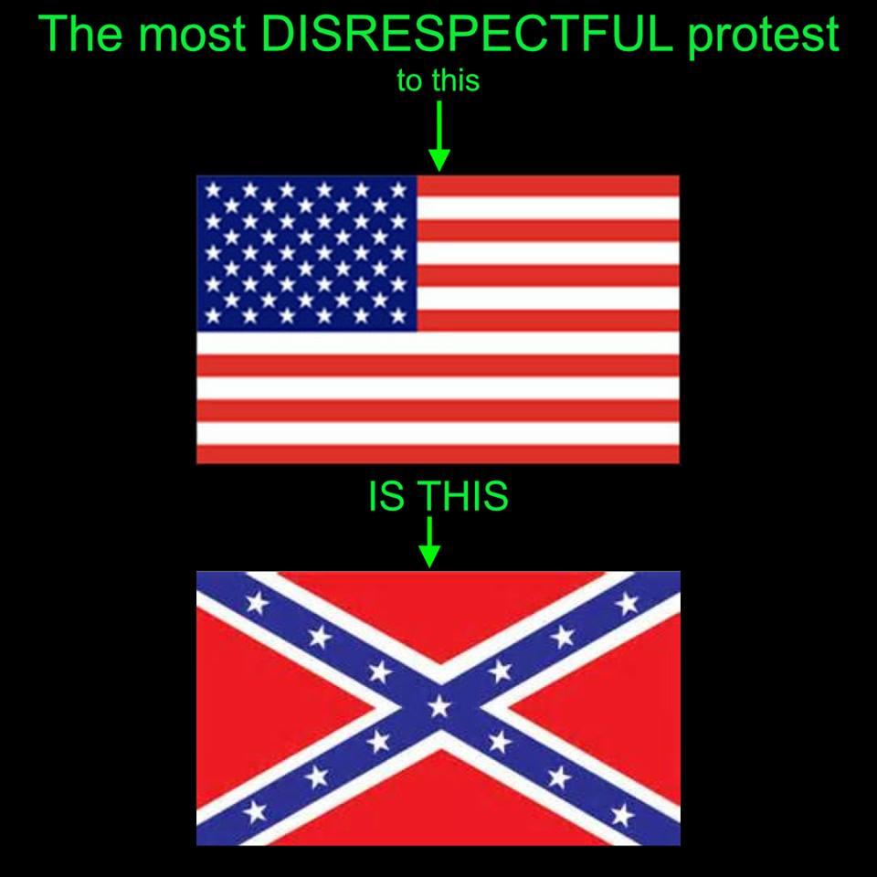 flag protest jill stein meme