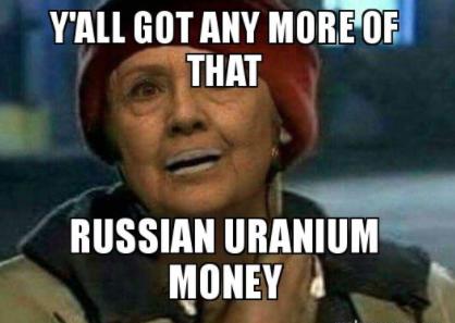 russian uranium meme