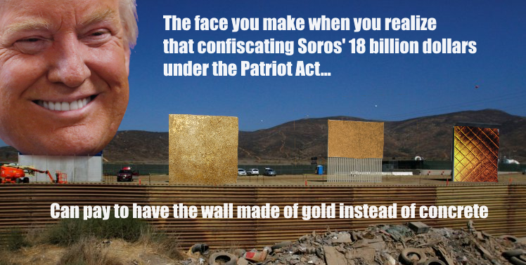 soros patriot act meme
