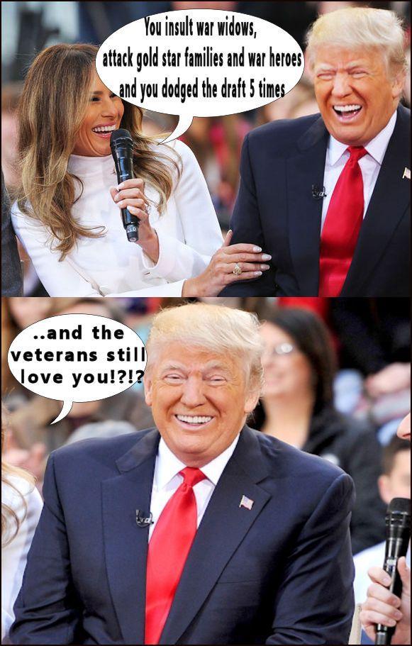 veterans love trump meme